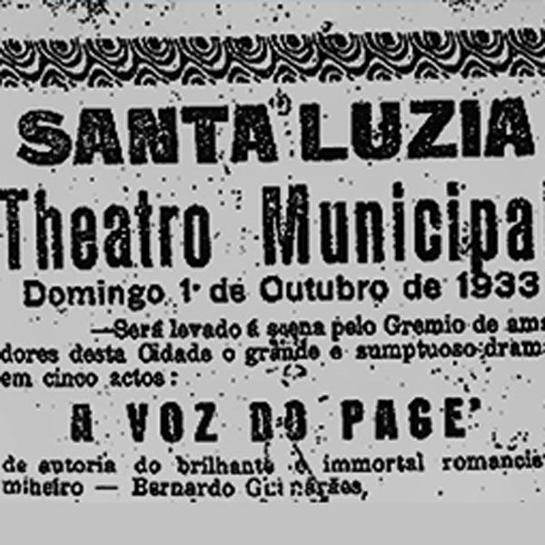 Uma Cidade à Procura De Um Teatro